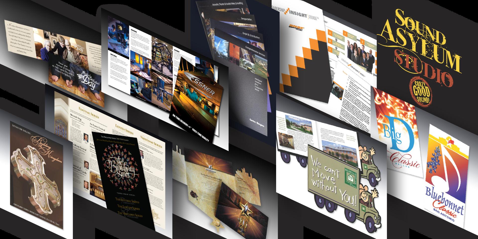 Freelance Dallas Fort Worth-Graphic Design-Print-Management